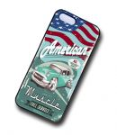 KOOLART AMERICAN MUSCLE Car 50's Std Chevy Bel Air Case For Apple iPhone 5 & 5s